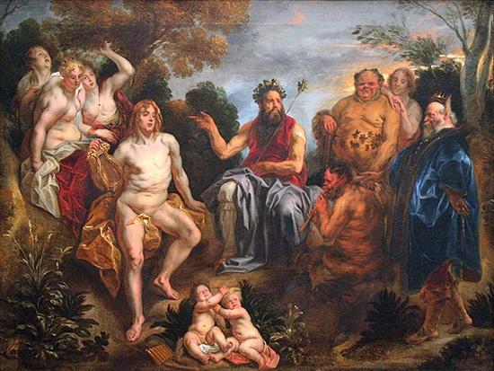 アポローン神と牧羊神マルシュアスの音楽対決の判定