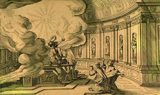 女神イシスの奇跡、イピスとその母テレトゥーサ