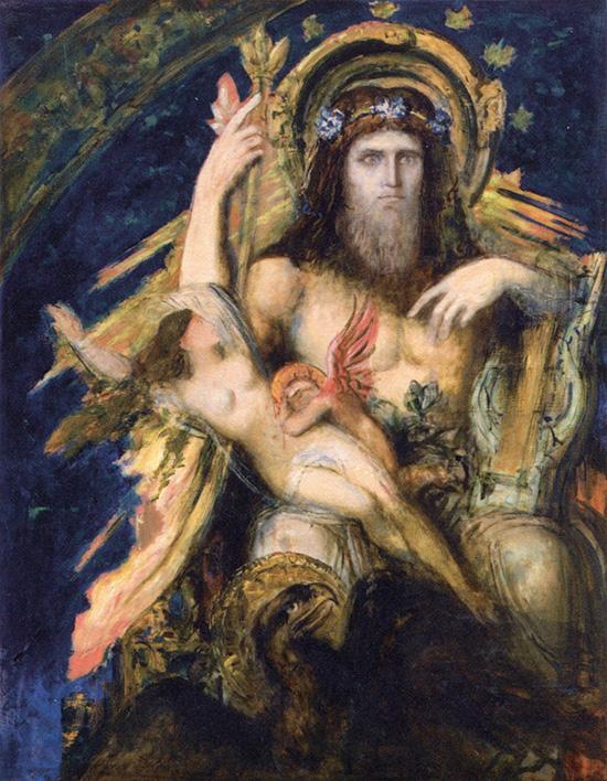 ユピテル(ゼウス)とセメレー