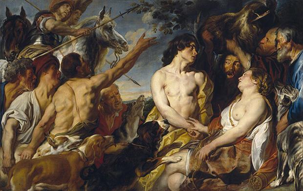メレアグロスとアタランテ