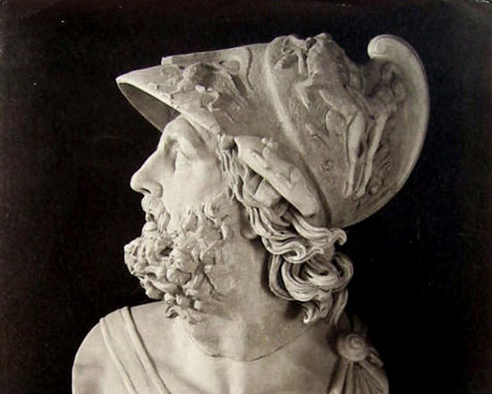 メネラオス像