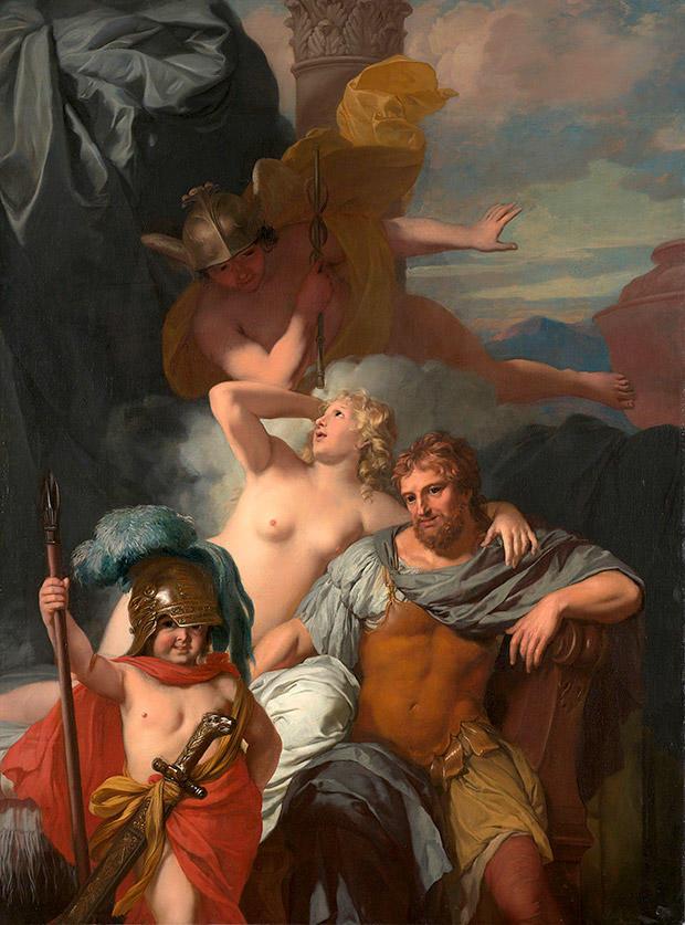 ヘルメース・カリュプソ・オデュッセウス