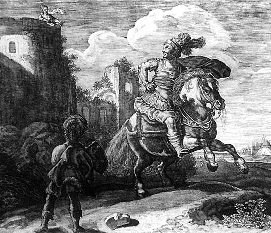 ミーノース王とスキュラ
