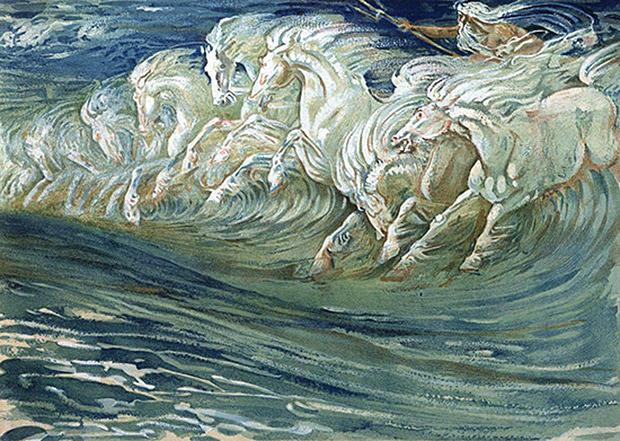 ポセイドーンの白馬