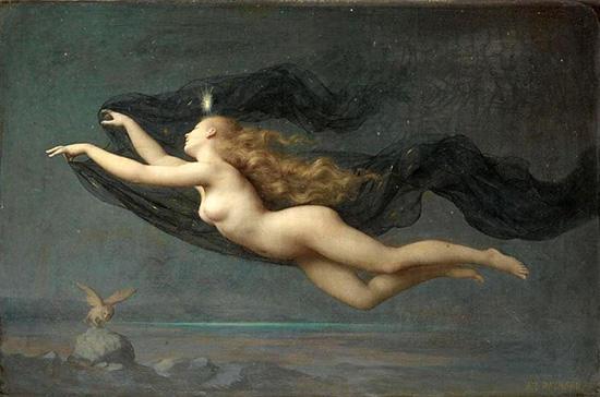 夜の女神/ニュクス-オーギュスト・レイノー