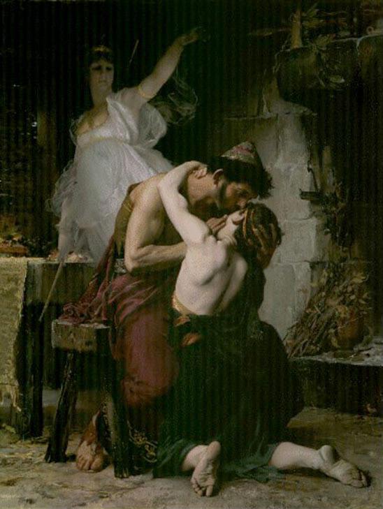 オデュッセウスとテレマコス父子の再会