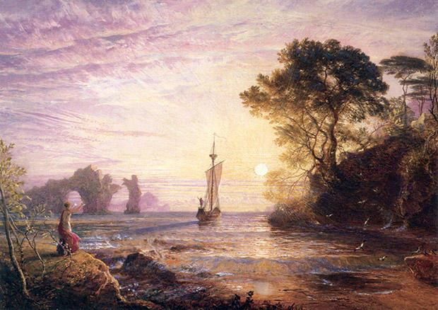 オデュッセウスの船出