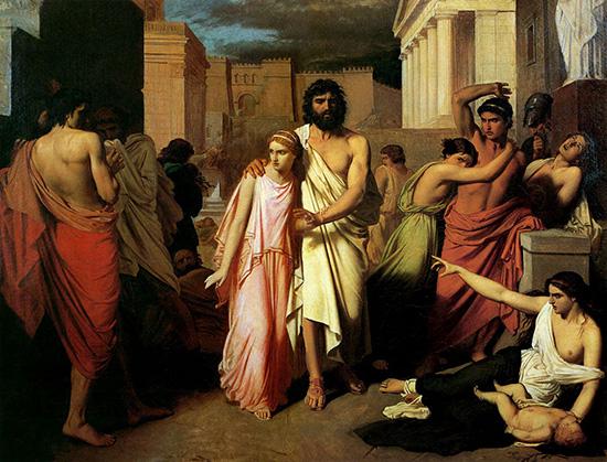 オイディプス王とアンティゴネ