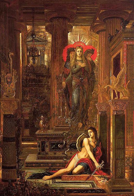 オレステスと復讐の女神エリーニュス