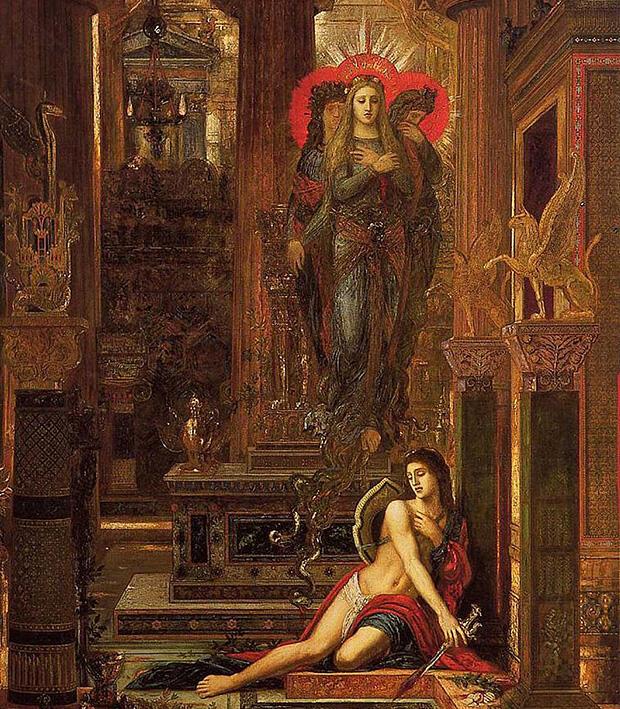 オレステスと復讐の女神