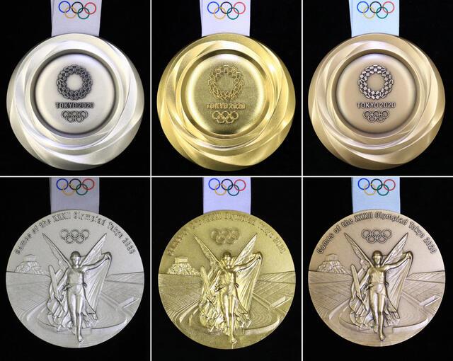 2020東京オリンピック・金銀銅メダル
