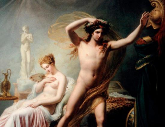 ヘレネとパリス