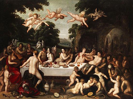 テティスとペーレウスの結婚式