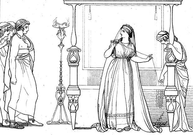 ペネロペイアと求婚者たち