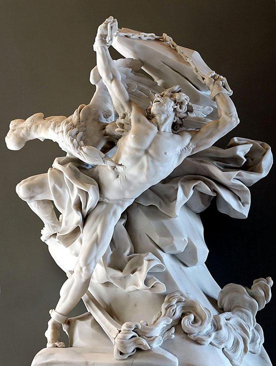 プロメテウス像