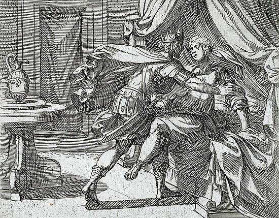 ピロメラをレイプするテーレウス