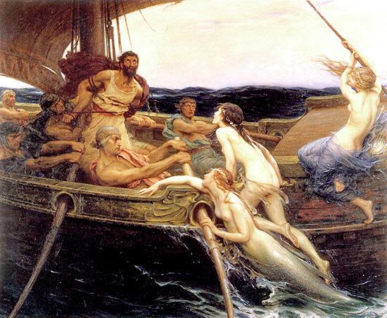 オデュッセウスとセイレーンたち