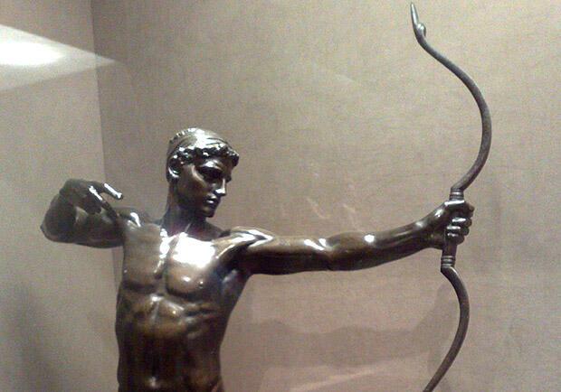 弓の名手テウクロス