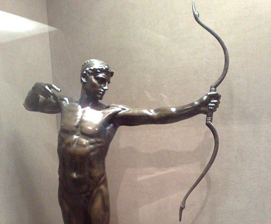 テラモンの子、弓の名手テウクロス