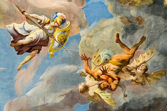 天界の戦い