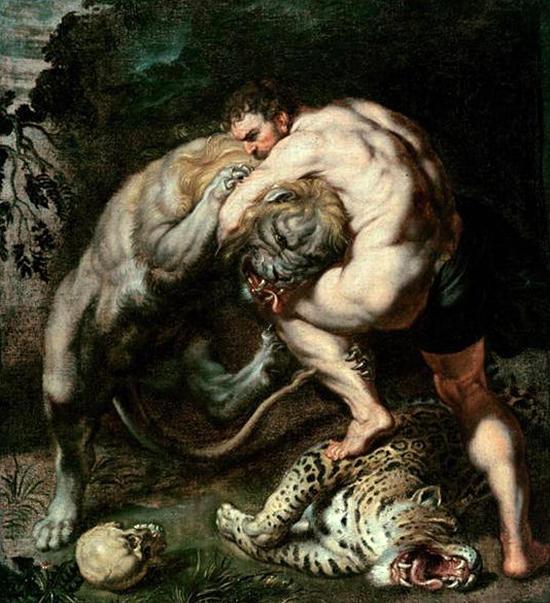 ネメアの獅子退治
