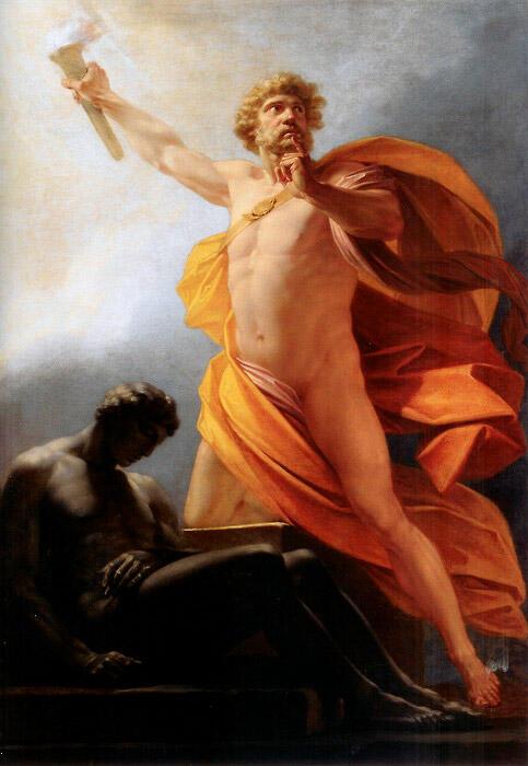 プロメテウスと火