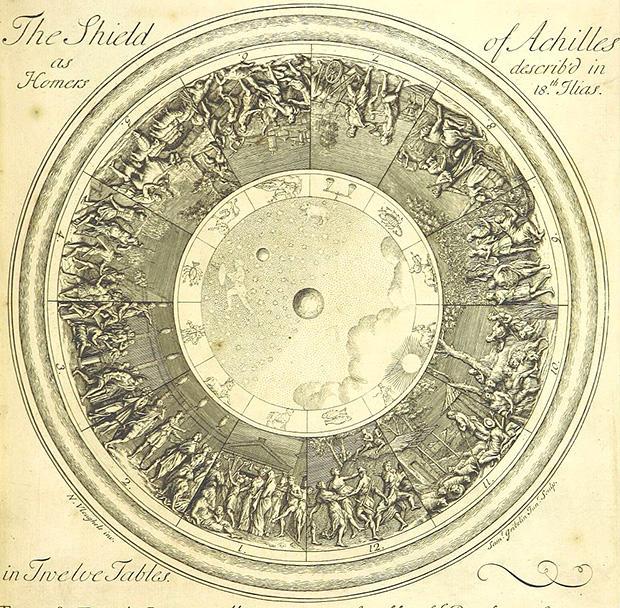 アキレウスの楯・図面