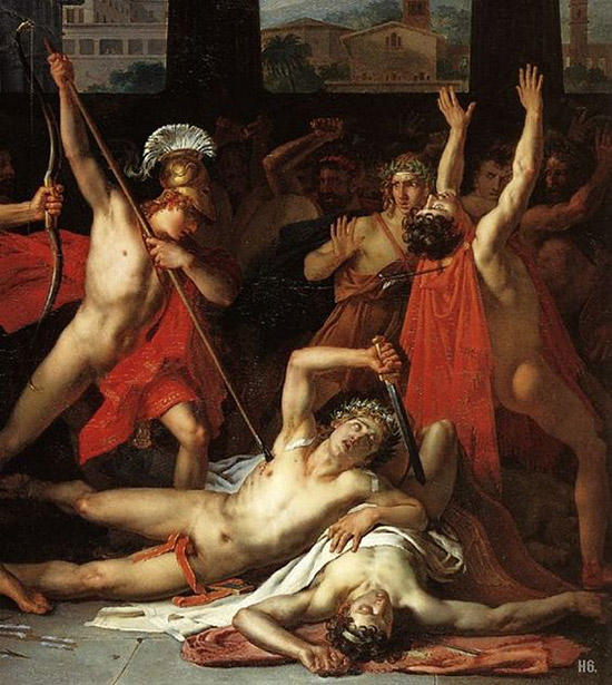 求婚者の誅殺