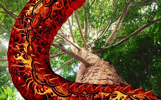 スズカケの樹と大蛇